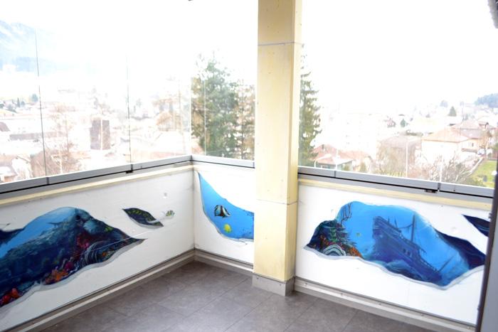 graffiti-meer-Schiffswrack